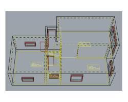 Flächenobjekt Gitternetz 250