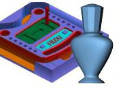 2½D + 3D CNC Fräsen für wenig Geld