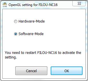 Hardware Software Modus umschalten