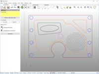 FILOU NC 2,5D DXF fräsen und 2D CAD